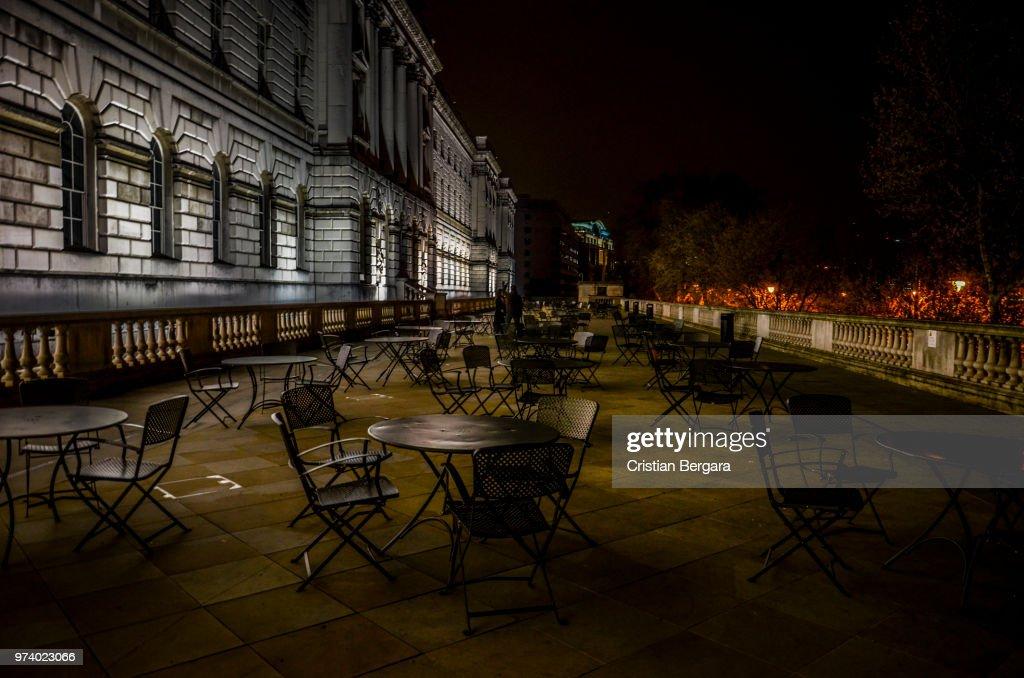 La Terraza De Noche Stock Photo Getty Images