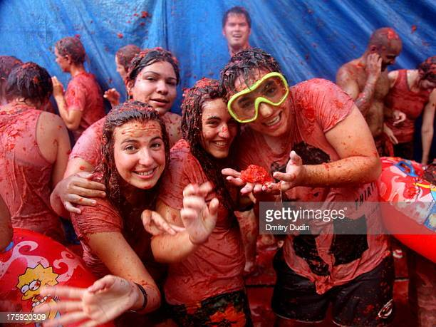 La Tomatina is a food fight festival held on the last Wednesday of August each year in the town of Buñol in the Valencia region of Spain. Tens of...