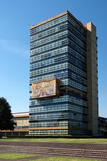 La Torre de Rectoría (Rectory Tower), Universidad Nacional Autónoma de México (UNAM), Coyoacán, Mexico City, Mexico