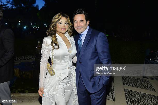 La Toya Jackson and Dr Paul Nassif attend the annual Summer Spectacular to benefit the Brent Shapiro Foundation for Alcohol and Drug Prevention at...