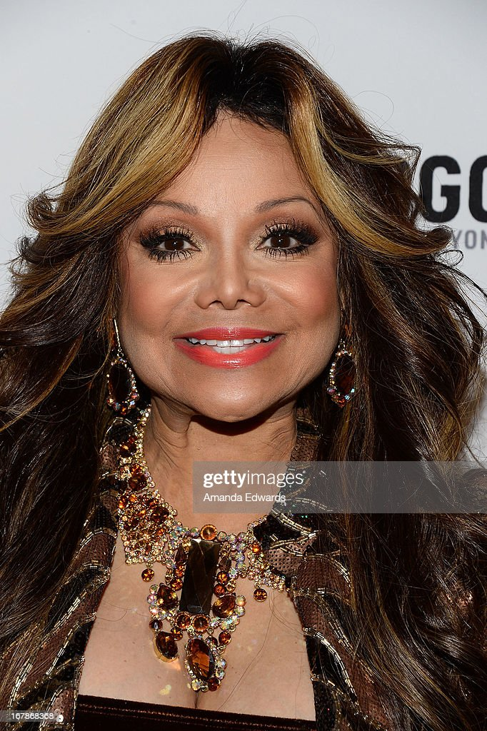 La Toya Jackson arrives at 'Rupaul's Drag Race' Season 5 Finale, Reunion & Coronation Taping on May 1, 2013 in North Hollywood, California.