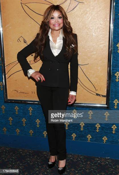La Toya Jackson attends her debut performance in 'NEWSical The Musical' After Party at Chez Josephina on September 3 2013 in New York City