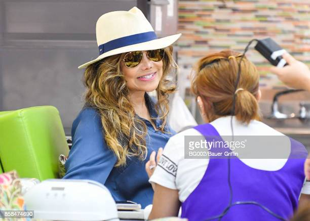 La Toya Jackson is seen on October 06 2017 in Los Angeles California