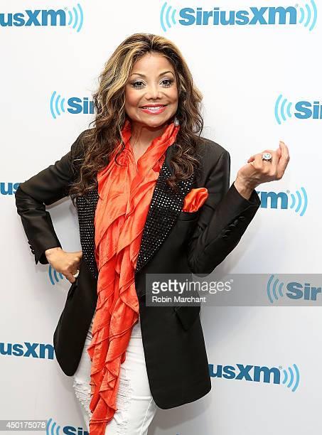 La Toya Jackson visits at SiriusXM Studios on June 6 2014 in New York City