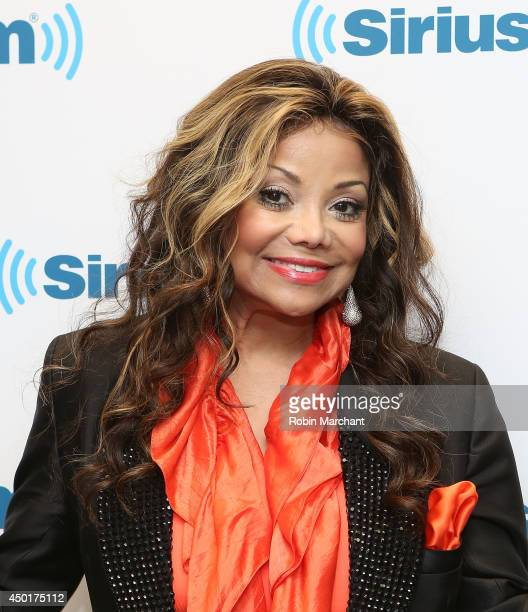 La Toya Jackson visits at SiriusXM Studios on June 6 2014 in New York City