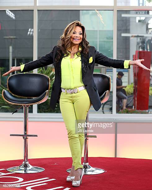 La Toya Jackson visits Hollywood Today Live Studio on July 29 2014 in Hollywood California