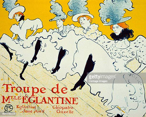 'La Troupe De Mlle Églantine' 1896 Poster ToulouseLautrec Henri de Found in the collection of the State A Pushkin Museum of Fine Arts Moscow
