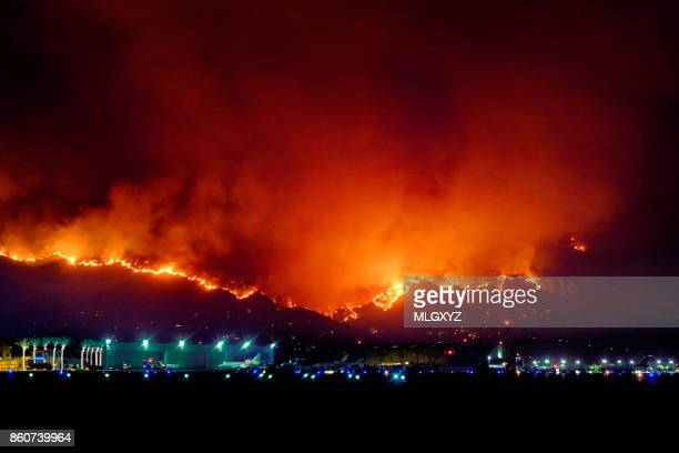 la tuna fire - california wildfire stock pictures, royalty-free photos & images