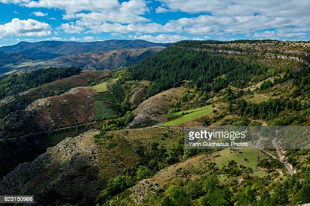 La Vallee Francaise,The National Park Of Cevennes, Languedoc Roussillon, France
