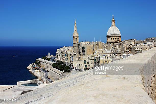 la valletta, malta - valletta stock pictures, royalty-free photos & images