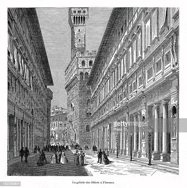 La villa Palmieri' The Uffizi Gallery 19th century Alexandre Dumas Private collection