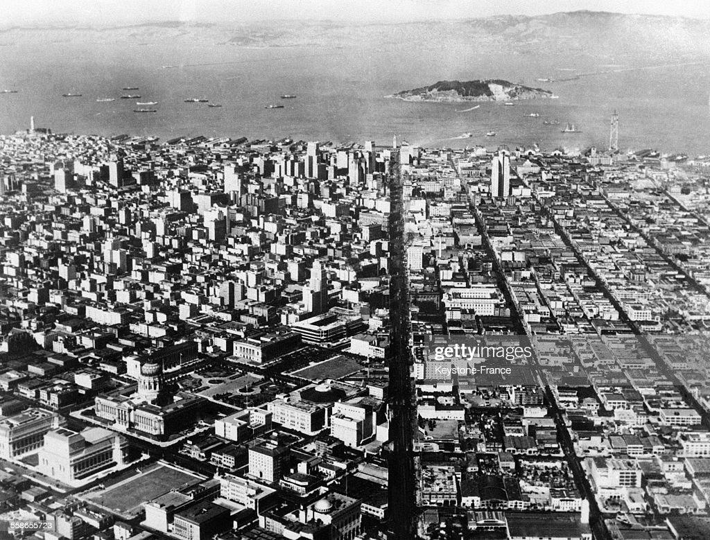 Vue aérienne de San Francisco Pictures | Getty Images