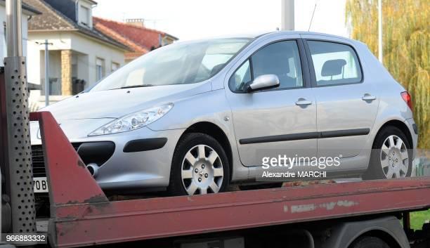 La voiture du depute. Jean-Marie Demange, depute UMP de la 9e circonscription de la Moselle depuis 1986 et ancien maire de Thionville, s'est donne la...