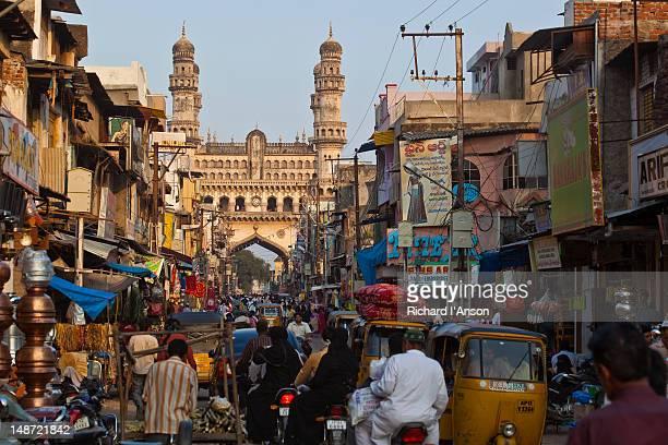 Laad Bazaar and the Charminar.