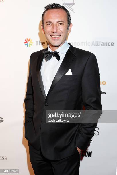 Lab Art Honoree Iskander Lemseffer attends the 2017 Entrepreneur Awards at Allure Events And Catering on February 22 2017 in Van Nuys California