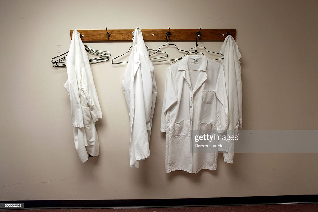 Lab coats hang on a hooks at the Wisconsin National Primate Research Center at University Wisconsin-Madison March 10, 2009 in Madison, Wisconsin. On March 9, 2009 President Barack Obama signed an order reversing the Bush administration's limits on human embryonic stem cell research. Scientists at the University Wisconsin-Madison, who were the first to experiment in finding cures to neurological and muscular diseases through stem cell research, are now hoping to receive federal funding to aid in their work.