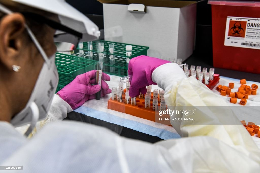 US-HEALTH-VIRUS-VACCINE-TRIALS : News Photo