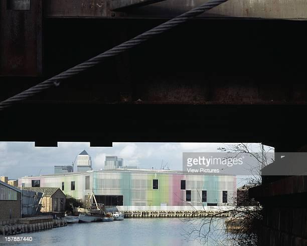 Laban Dance Centre London United Kingdom Architect Herzog De Meuron Laban Dance Centre View From Haõpenny Hatch Footbridge