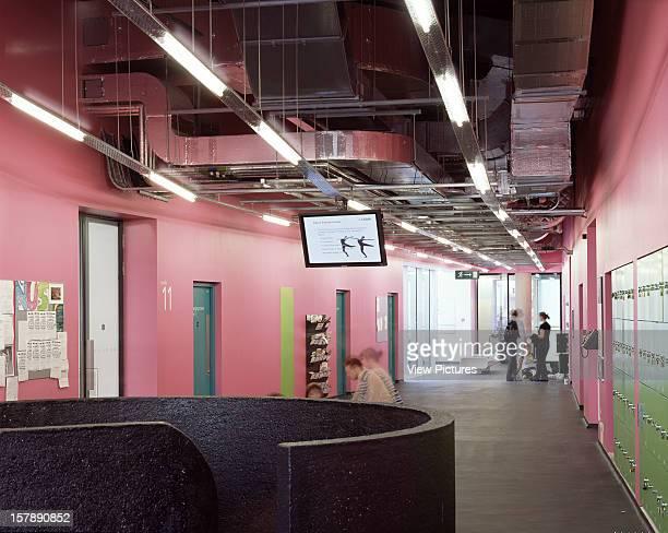 Laban Dance Centre London United Kingdom Architect Herzog De Meuron Laban Dance Centre 2Nd Floor With Dancers