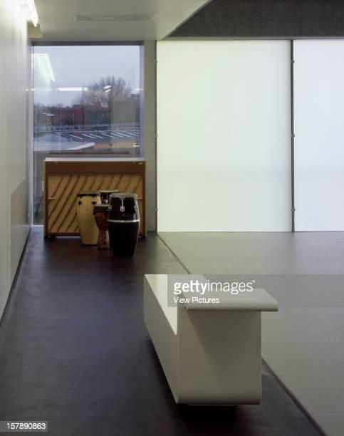 Laban Dance Centre London United Kingdom Architect Herzog De Meuron Laban Dance Centre Studio Bench