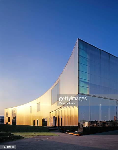 Laban Dance Centre London United Kingdom Architect Herzog De Meuron Laban Dance Centre Exterior At Dusk