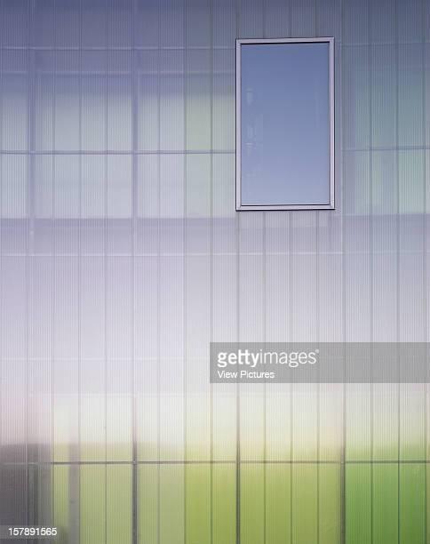 Laban Dance Centre London United Kingdom Architect Herzog De Meuron Laban Dance Centre Polycarbonate And Window Detail
