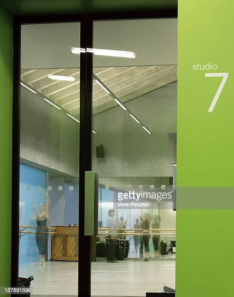 Laban Dance Centre London United Kingdom Architect Herzog De Meuron Laban Dance Centre Studio 7 Through Door