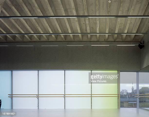 Laban Dance Centre London United Kingdom Architect Herzog De Meuron Laban Dance Centre Studio 10 Empty With Church