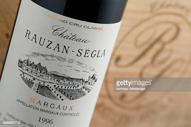 Label of a bottle Margaux produced by Rauzan-Ségla from 1996