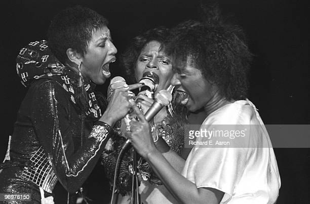 Labelle perform live in New York in 1975 LR Nona Hendryx Patti Labelle Sarah Dash