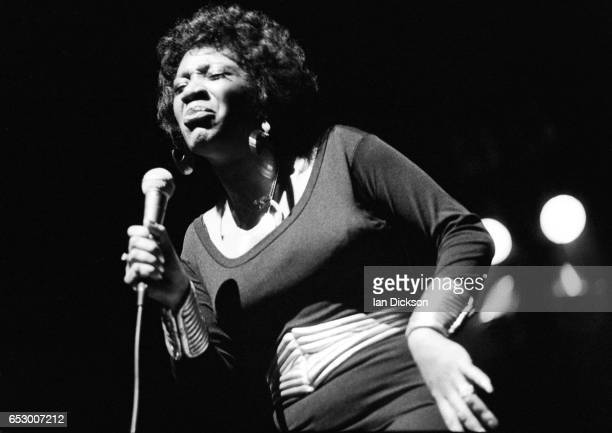 Labelle performing on stage in London 1975