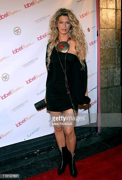 Labellosangelescom Launch Party in Hollywood United States on April 21 2005 Amber Smith at the Labellosangelescom Launch Party at CinesSpace