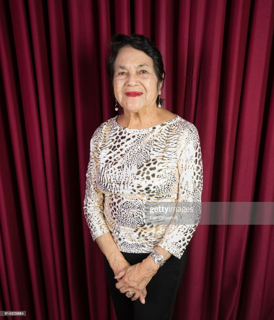 Labor leader and civil rights activist Dolores Huerta is honored as KPFK's 'Heroes Of Hope' Fundraiser on February 4, 2018 in Los Angeles, California.