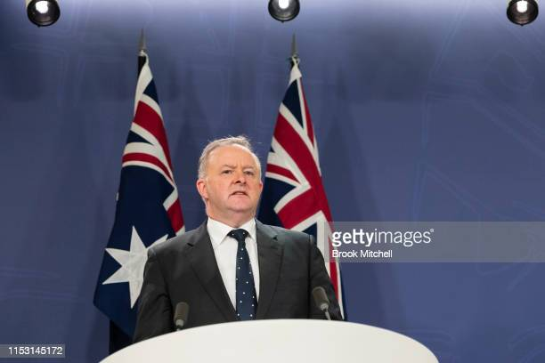 Labor leader Anthony Albanese announces his shadow cabinet with Bill Shorten as minister for the Disability Insurance Scheme Richard Marles Deputy...