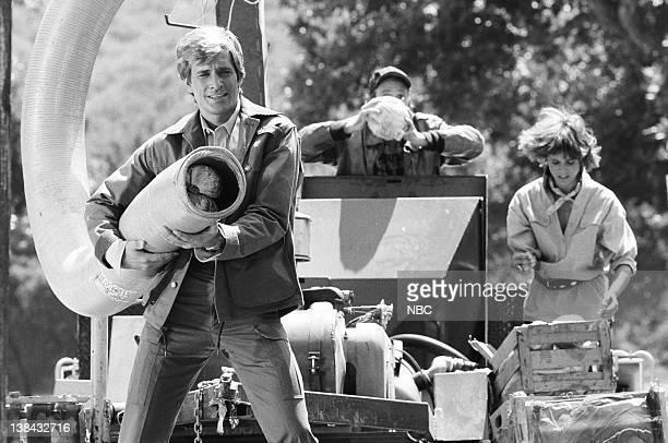 TEAM Labor Pains Episdoe 8 Pictured Dirk Benedict as Templeton 'Faceman' Peck Dwight Schultz as 'Howling Mad' Murdock Melinda Culea as Amy Allen