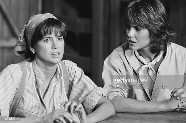 TEAM Labor Pains Episdoe 8 Pictured Penny Peyser as Laura Melinda Culea as Amy Allen