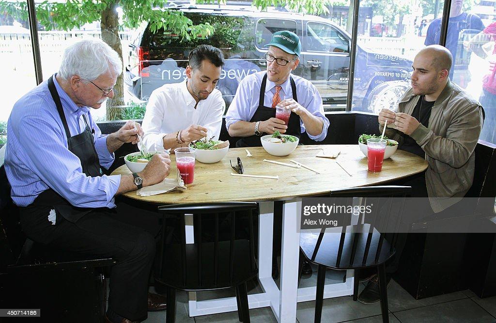 Labor Secretary Perez Discusses Raising Minimum Wage During Visit To DC Restaurant