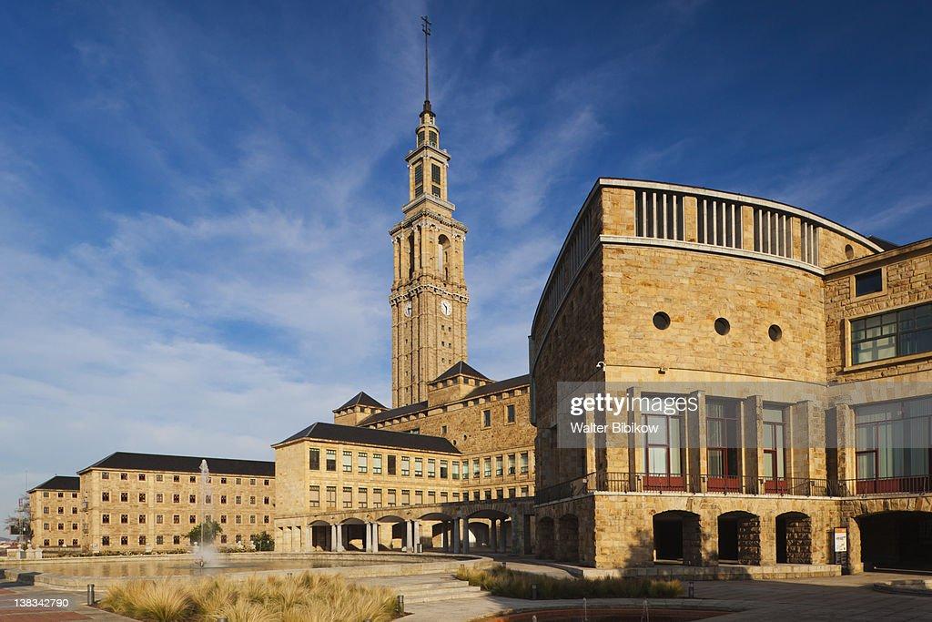 Laboral Ciudad de la Cultura : Stock Photo