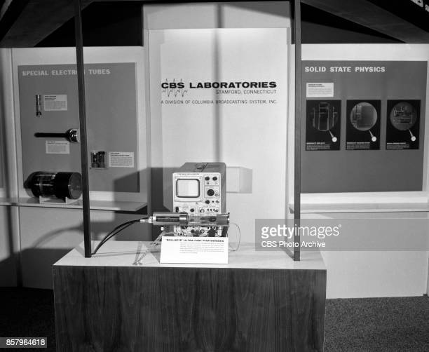 Laboratories display and exhibition booth for the first International Convention of the Institute of Electrical and Electronic Engineers at New York...