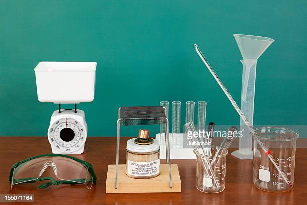 Laboratory Equipment in Classroom