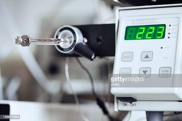 Laboratory Equipment working