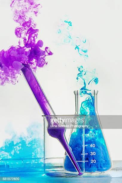 Laboratory glassware for a fun chemistry class