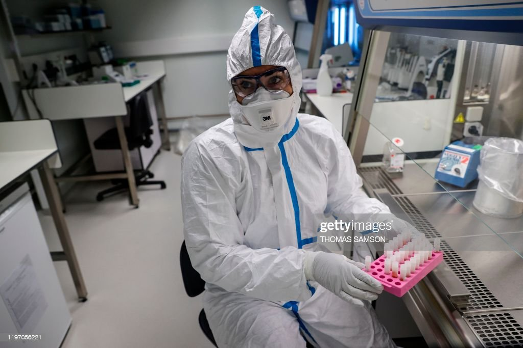 FRANCE-HEALTH-CORONAVIRUS-PASTEUR : News Photo
