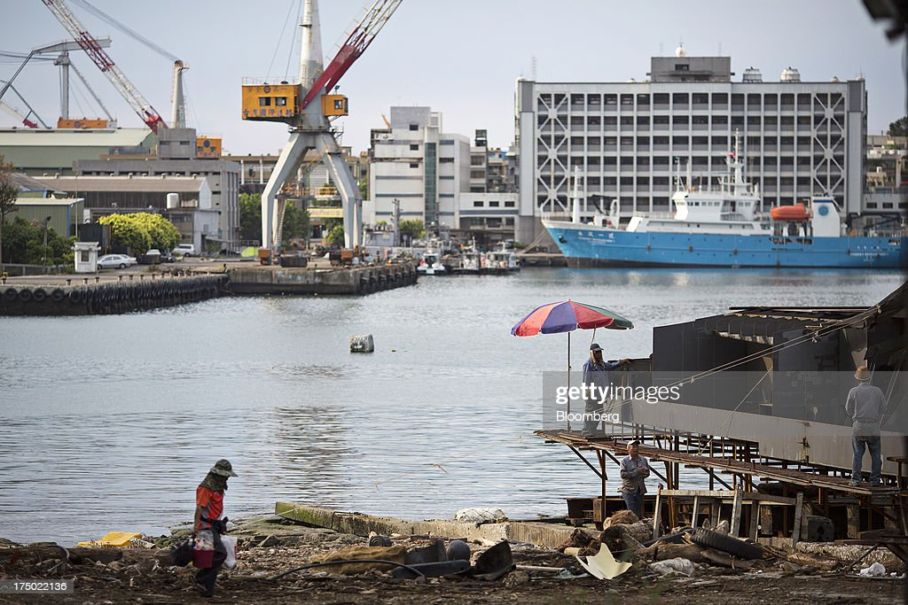 Images Of Keelung Port As Taiwan Engages In Trade Talks Across The