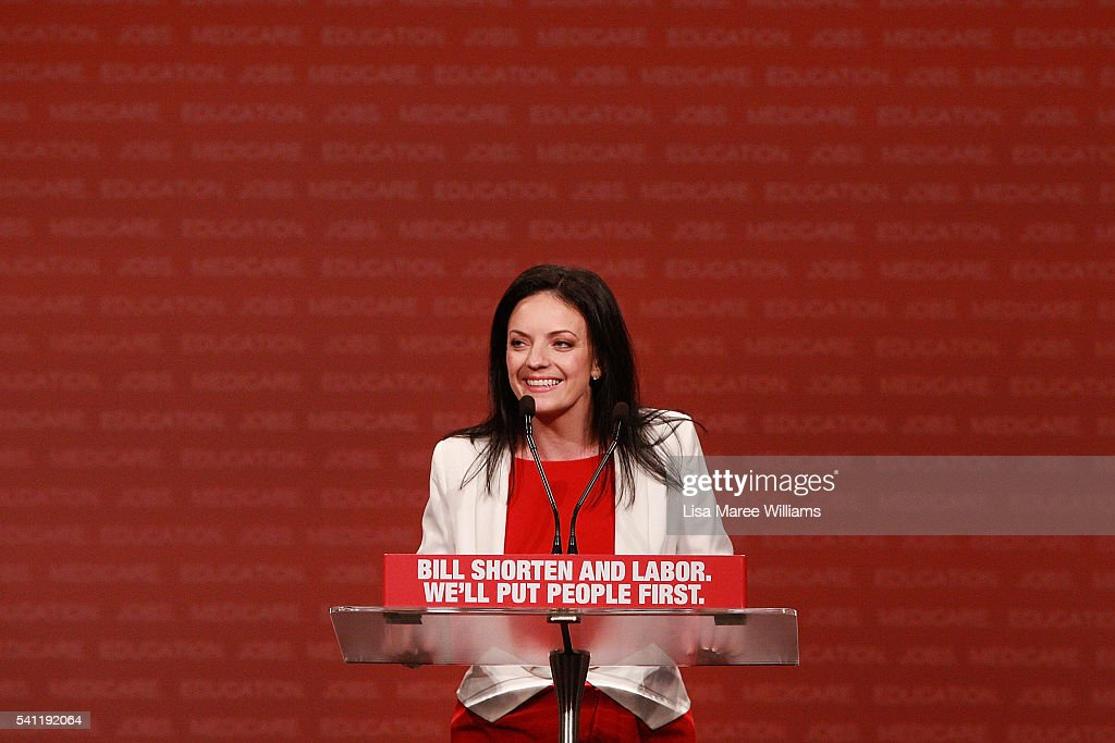Australian Labor Party 2016 Federal Campaign Launch : News Photo