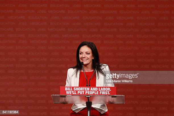 Labor's candidate for Lindsay Emma Husar opens the Australian Labor Party 2016 Federal Campaign Launch at the Joan Sutherland Performing Arts Centre...