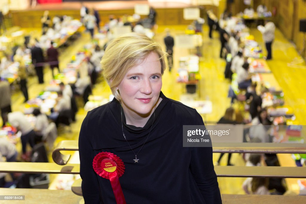 Labour Candidate For Walthamstow Stella Creasey Attends The Waltham Forest Count : News Photo