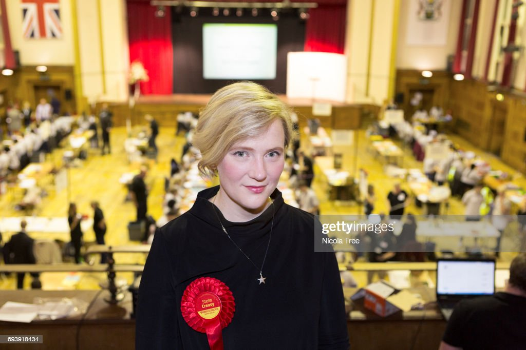 Labour Candidate For Walthamstow Stella Creasey Attends The Waltham Forest Count