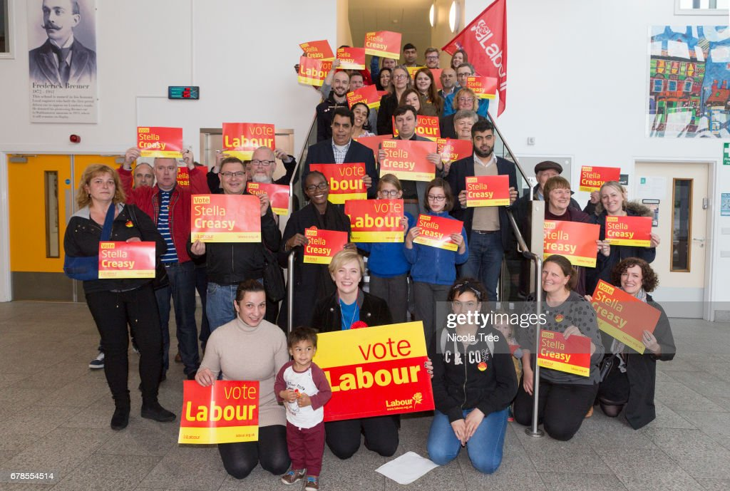 Walthamstow Labour MP Stella Creasy Launches Her General Election Campaign