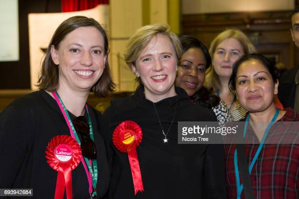 Labour Candidate Stella Creasy wins with a large majority at the Waltham Forest count on June 8 2017 in London England After a snap election was...